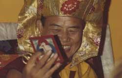 The 16th Karmapa Rangjung Rigpe Dorje at Lolland