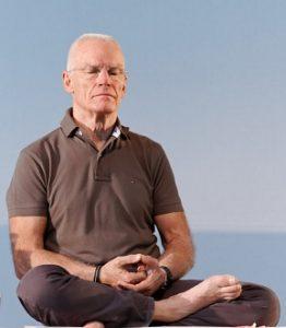 ole meditating